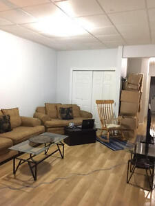 Main Floor Apartment available October 1st- includes heat/hydro