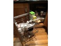Maxima under unit left opening kitchen cupboard framework