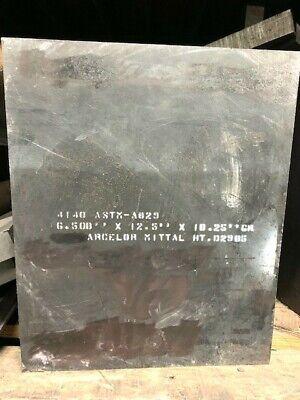 Grainger Approved Alloy Steel Flat Stocksteel4140 6.5 X 12.5 X 10.25
