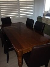 Table and chairs Heathcote Sutherland Area Preview
