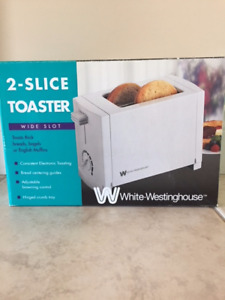 New White Westinghouse 2-slice wide slot $20