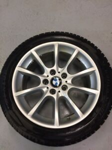 Bmw 550 Winter tires and rims