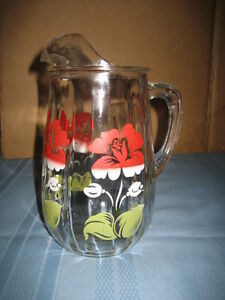 Vintage 1950's Juice/Water Jug