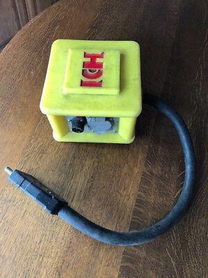 60 Amp Eddie Box Woodhead Type Power Strip With Bates Connector