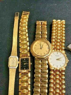 Men's and Ladies' Non-working Bulova Watches