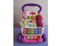 Vtech First Steps Baby Walker, Pink