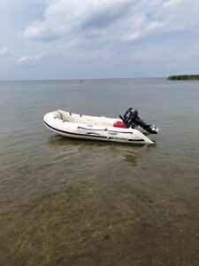 Mercury Dinghy Boat and Yamaha Motor for Sale