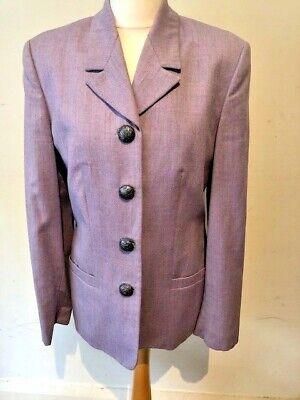 Versace Versus Lilac Metal Button Vintage Blazer Jacket 44 12