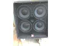 Peavey 4x10 uprated ...