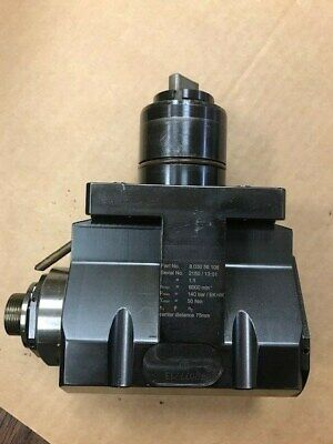 Miyano Cnc Live Tool Holders Heimatec 8 030 56 106 Radial Drill Mill Head