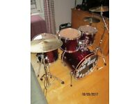 Full Drum Kit (plus Protection cases)