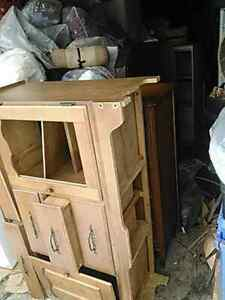 Dressers shelving  for free or by donation