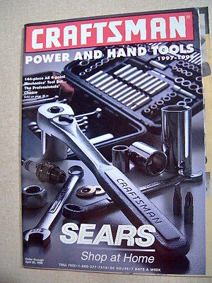 Craftsman Sears Tool Catalog 1997 - 1998