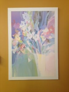 Spring flower painting