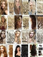 CLIP IN Hair extensions,WAVY-CURLY like REAL HAIR ***BIG SALE!!