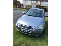 Vauxhall Corsa 1.0 Active A/C 2006 Low Mileage £1,100 ONO