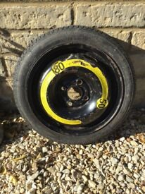 Emergency spare tyre
