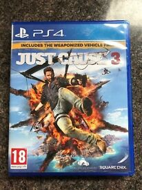 Just Cause 3 Playstation PS4 game
