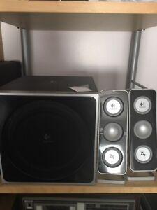 Logitech Z4 Computer Speakers & Sub-woofer