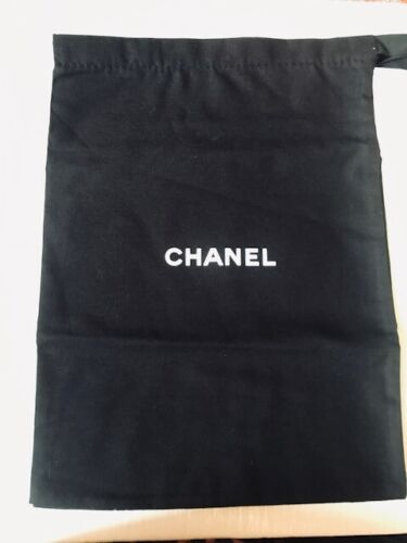 A SINGLE (1) Chanel  Shoe DUST BAG 13 inches by 9.5 inches