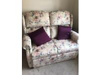 Reclining ArmChair & 2 Seater Sofa