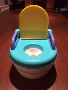 Portable toddler potty