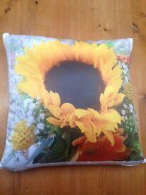 BRAND NEW sunflower CUSHION