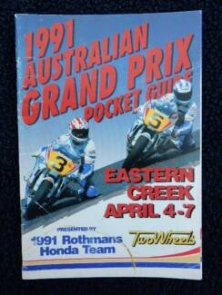 1991 Australian Grand Prix, Eastern Creek, NSW, April 4-7