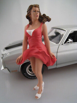 70's Figure VIII  Sexy Girl  AMERICAN DIORAMA  Maßstab 1:18  OVP  NEU 70 S Girl