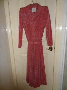 Ladies Vintage Red Evening Dress Point Cook Wyndham Area Preview