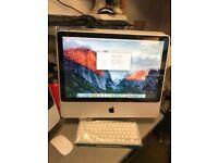 iMac Intel Dual Core @ 2Ghz, 4GB RAM, 750GB HDD - EL Capitan OSX Ex CON £168