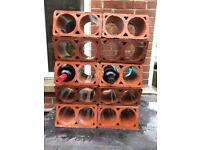 10 Clay pipe blocks