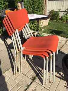 Matching Outdoor Chairs Cambridge Kitchener Area image 2