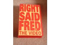 VHS Right Said Fred UP