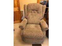 Rise and recline dual motor sofa chair