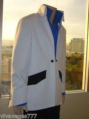 NEW (MEDIUM) Elvis (WHITE) 1972 JACKET (Tribute Artist Costume) Jumpsuit Era