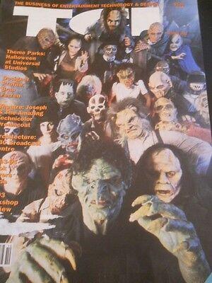 Halloween at Universal Studios - TCI Magazine 1993 - Halloween At Universal