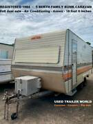 Registered 4-5 berth 1984 Millard Dual axle Family Bunk Caravan Heathcote Sutherland Area Preview