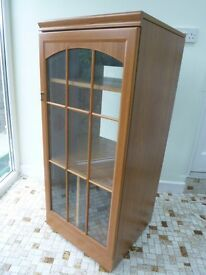 Music or Hi Fi Cabinet with lift up top