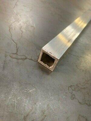 Aluminum Square Tube 1 X 1 X 36 Long X 18 Wall 0.125