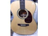 Crafter T035 Acoustic guitar with Fishman Electrics