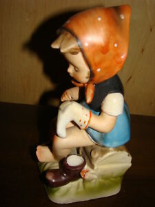 Little Mender 1950's Vintage Figurine by Erich Stauffer