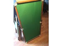 Kids Pool / Snooker Table