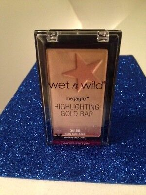 - ✨Wet N Wild Megaglo Highlighting Gold Bar Holly Gold-head #36180 {NEW & SEALED}✨