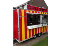 Fully Fitted Churros Catering Trailer Ready to trade
