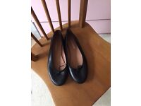 Russell and Bromley ballet flats - size 6