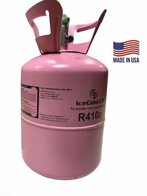R410a R410a Refrigerant 11lb Tank. New Factory Sealed Made In Usa