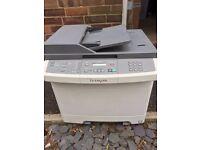 Lexmark X54 series laser printer/scanner plus consumables