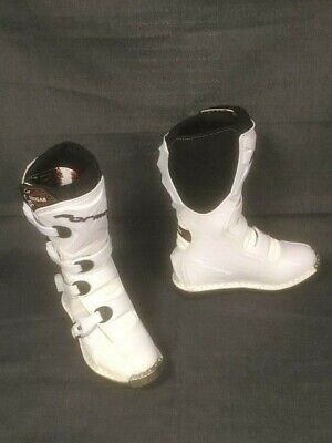 Terrain TX Forma White high performance motorcycle boots Size Euro 36, UK 3.5