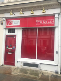 Office to rent in West Kensington - two shop fronts, 2 min walk to West Kensington underground